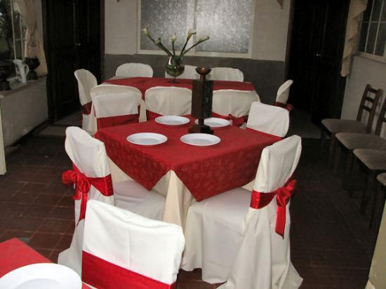 Hoteles y Eventos del Rio : The dining room.