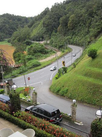 Ringlet, Malaysia: route passante