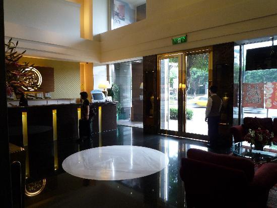 Taipei International Hotel: フロント