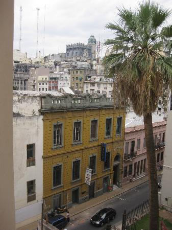 Moreno Hotel Buenos Aires: View from one window