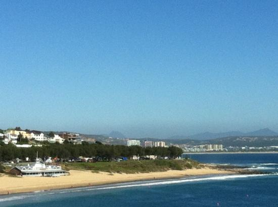 Protea Hotel Mossel Bay: view from the bed room of Mossel Bay