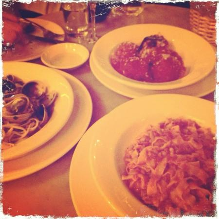 bolognese and meatballs