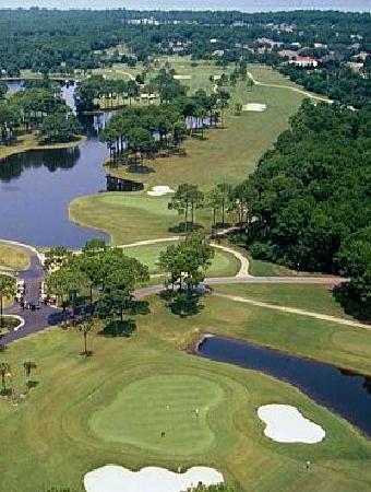 Indian Bayou Golf Club: Aerial of Indian Bayou