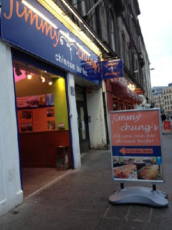 Jimmy Chung's Buffet : Jimmy Chung's at Grindlay Edinburgh