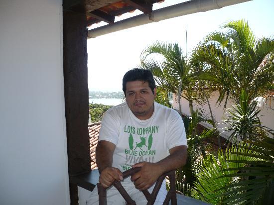 Buzios Arambare Hotel: Balcon