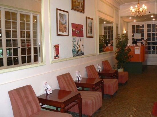 Hotel du Brabant: Hall d'entrée