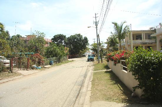 Street view (Casa de Tortuga on right)