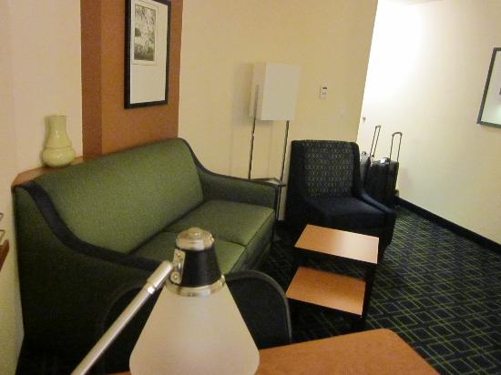Fairfield Inn & Suites Venice: a view from the desk