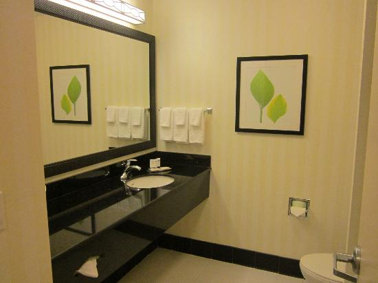 Fairfield Inn & Suites Venice: our bathroom