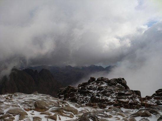 Mount Sinai: view from the peak.