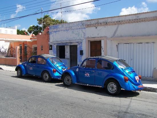 San Miguel : Beaucoup de jeep et de coccinelle sur l'île