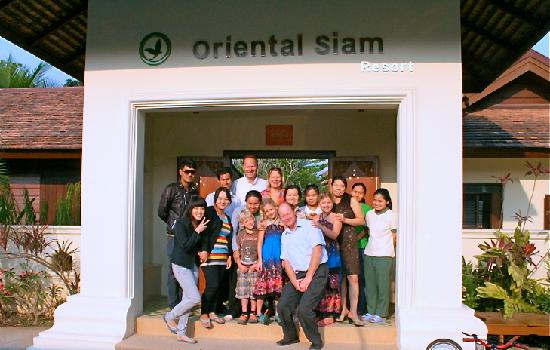 Oriental Siam Resort: Amazing resort staff