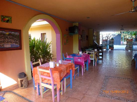 Hotel La Palmera : Breakfast Area