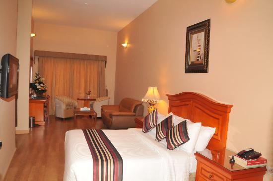 جلف جيت هوتيل: My suite - Pleasent,  very homely.