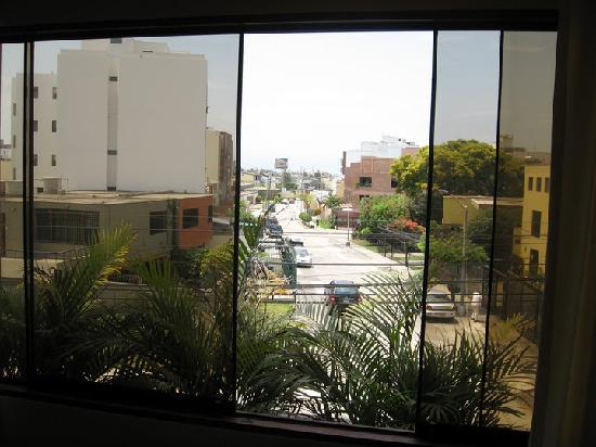 Benavides Family Guest House: View from the window