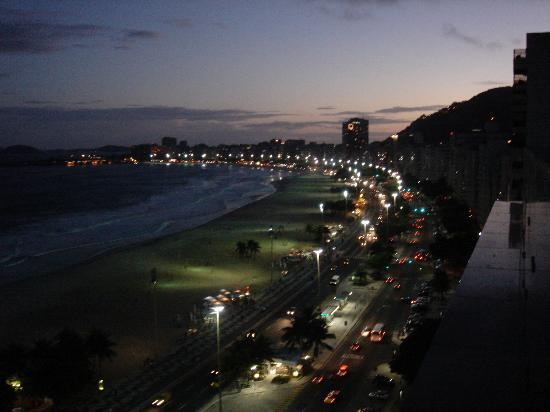 Arena Copacabana Hotel: Terraço
