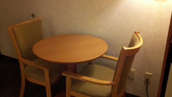 Best Western Socorro Hotel & Suites: A small desk for notes/eating near the door