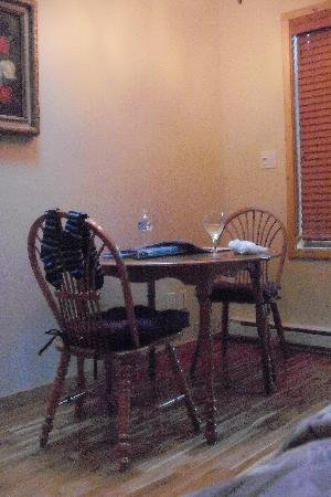 WurHere B&B: Dining area