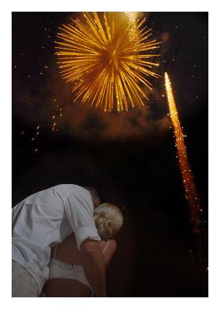 Decameron Los Cocos: Fireworks!!