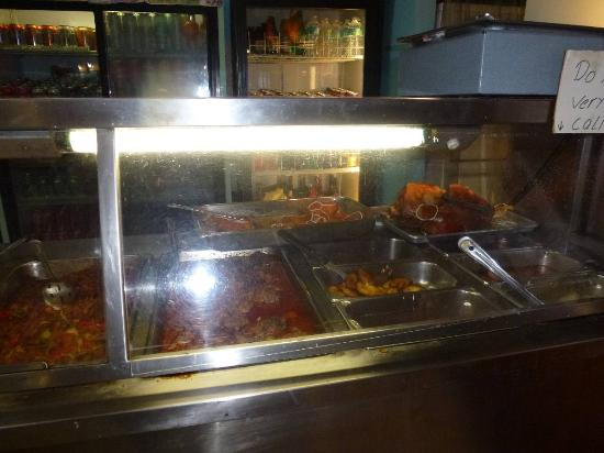 Dinner buffet selections - Picture of Dennys Latin Cafe, Key Largo ...