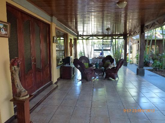 Hotel Robledal: rest area
