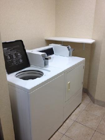 Sleep Inn & Suites : laundry facilities on 2 floors...