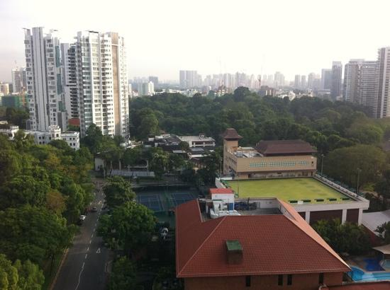 8 on Claymore Serviced Residences: view from the 2bed master room
