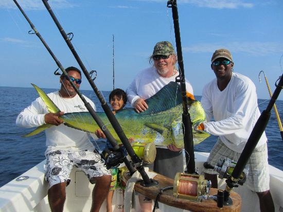 Hotel Tuanis: great fishing trip Rick setup for me.