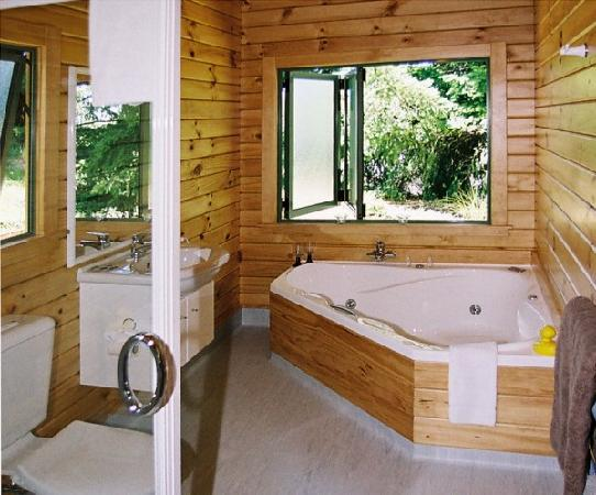 Chalets Motel: Spa Bath, Chalet 10