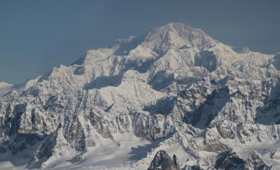 Talkeetna, AK: We flew by Denali!