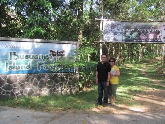 Busuanga Island Paradise: Resort Entrance
