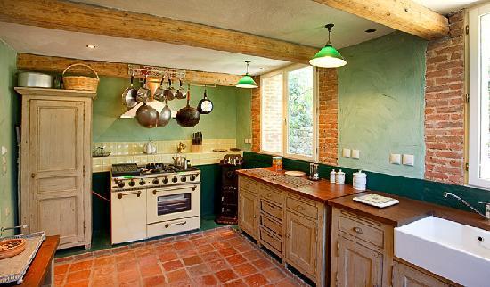 Loggos, Greece: Jacaranda Cottage Kitchen