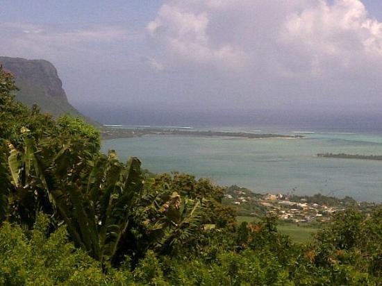 Indian Resort : vue du Morne de la montagne