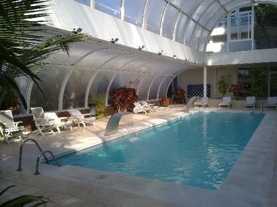 Gran Melia Don Pepe: The inside swimming poola at Grand Melia Don pepe