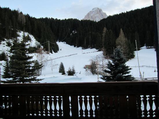 Pozzamanigoni: Vue de la terrasse
