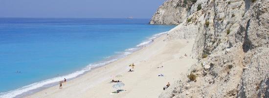 Strand von Egremni: Egremni Beach