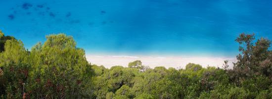 Plage d'Egremni : egremni beach