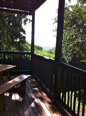 Boven Villa: Balcony