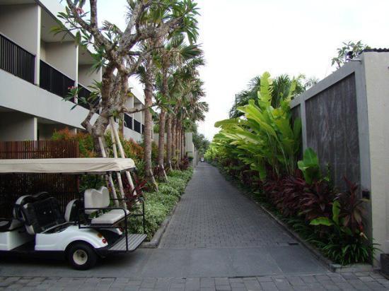 Amadea Resort & Villas: The way to the reception