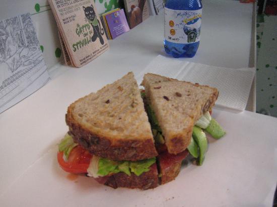 Homemade bread fresh veggies great proscuitto picture - Diy fa r oma ...