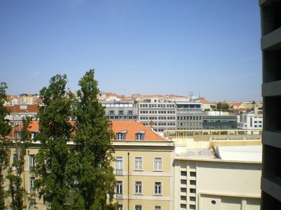 Tivoli Jardim: Aussicht vom Balkon