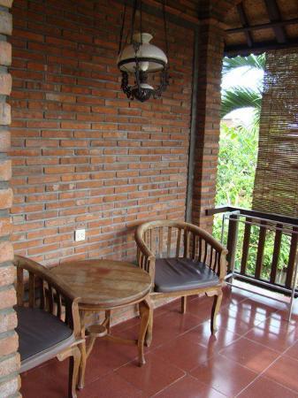 Jati 3 Bungalows: Balcony