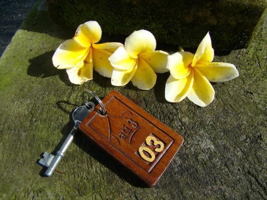 Jati 3 Bungalows: The room key