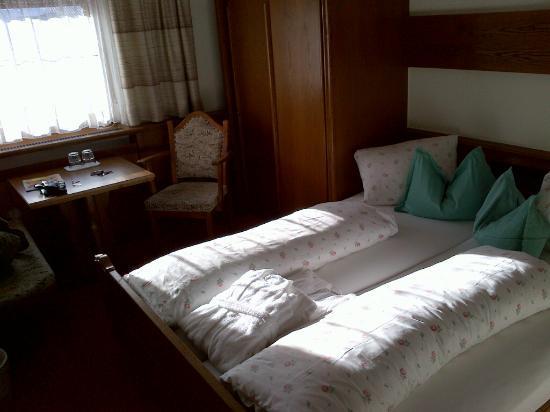 Alpenresidenz Ballunspitze: Das Zimmer im Hotel