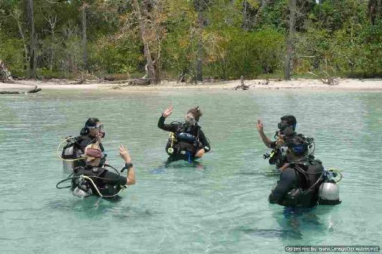 Andaman Bubbles : Divers
