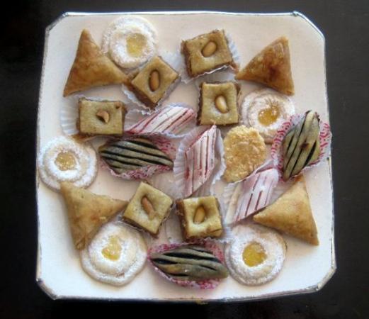 RIad Al Loune : biscotti marocchini offerti dal riad