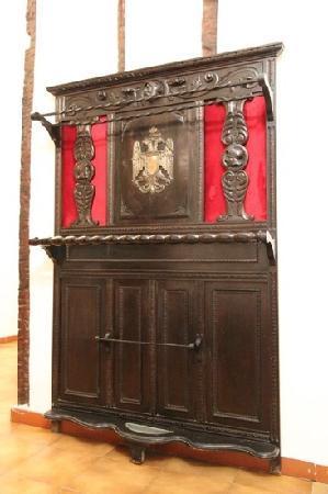 Posada de San Julian: Detalle pasillo habitaciones.