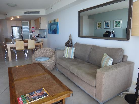 The Sebel Maroochydore: Partial view of the suite - 2 bedrooms too!