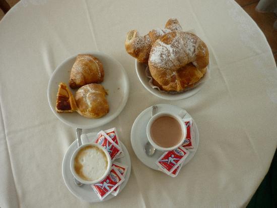 Santa Caterina: colazione