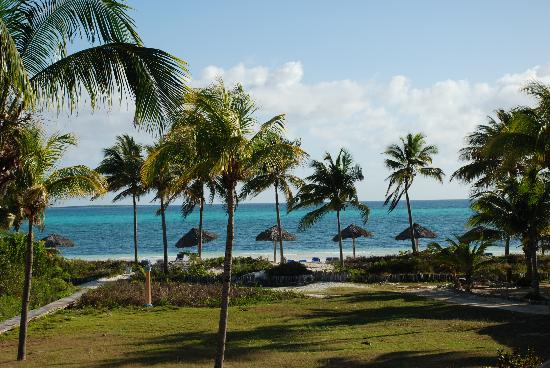 Melia Cayo Guillermo: view over our balcony